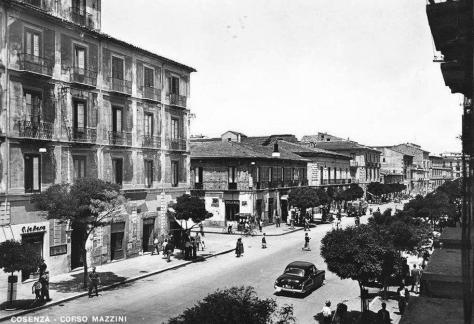 C.M. Cosenza anni 50