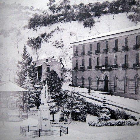 Cosenza dell'ottocento sotto la neve