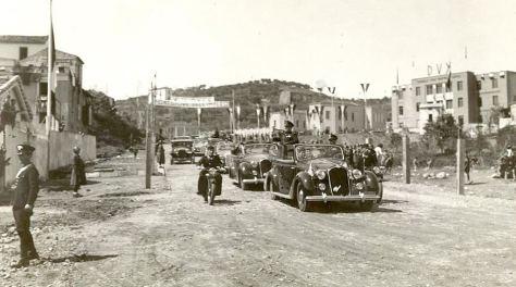 Mussolini a Cosenza