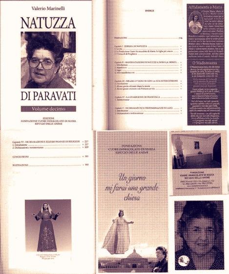 VALERIO MARINELLI NATUZZA DI PARAVATI (VOLUME DECIMO) – EDIZIONI FONDAZIONE CUORE IMMACOLATO DI MARIA RIFUGIO DELLEANIME