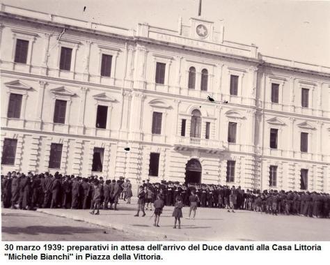 30 Marzo 1939 duce a Cosenza