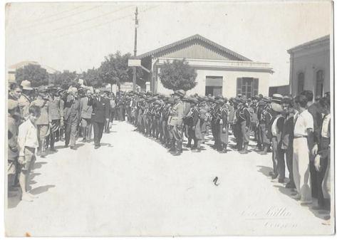 anno 1926 visita del quadrunviro michele bianchi a belmonte calabro