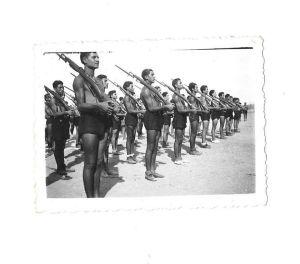 anno 1931-- avanguardisti alle esercitazioni militari
