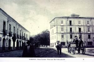 Cosenza, Piazza Carmine primi anni del 900