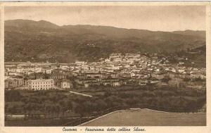 Panorama dall'acquedotto ANNI 40.