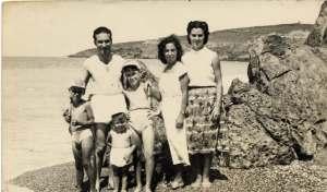 Carmela D'angelo e famiglia