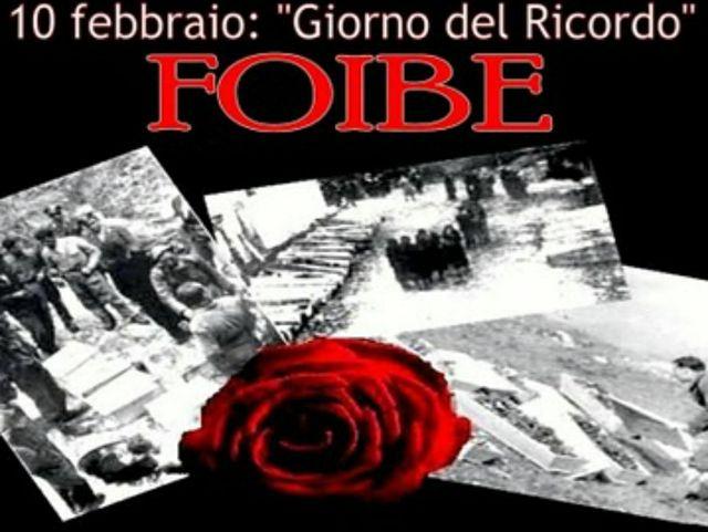 """FOIBE IL 10 DI FEBBRAIO DE""""IL GIORNO DEL (NON)RICORDO"""" TRA SILENZIO ROUTINE  COPIA-INCOLLA MA SIAMO TUTTI ISTRIANI FORZA VERITA'! [""""AZ.""""-11.02.'15]"""
