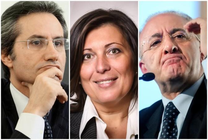 REGIONALI IN CAMPANIA CON STEFANO CALDORO PRESIDENTE VOTA FORZA ITALIA SCEGLI DI SCALA